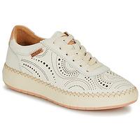 Sapatos Mulher Sapatilhas Pikolinos MESINA W6B Branco / Rosa
