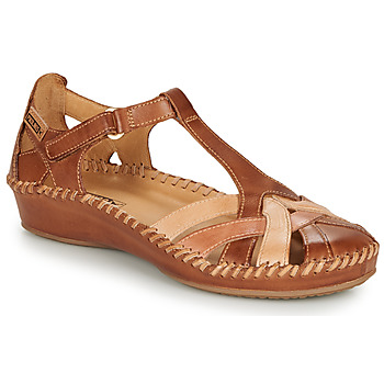 Sapatos Mulher Sandálias Pikolinos P. VALLARTA 655 Conhaque / Camel