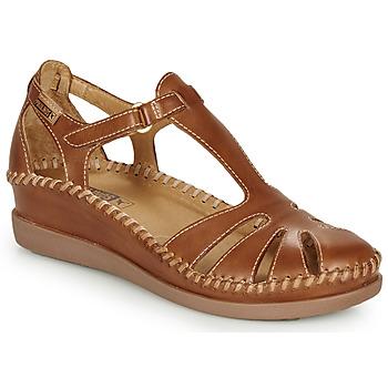 Sapatos Mulher Sandálias Pikolinos CADAQUES W8K Camel