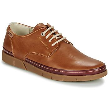 Sapatos Homem Sapatos Pikolinos PALAMOS M0R Castanho