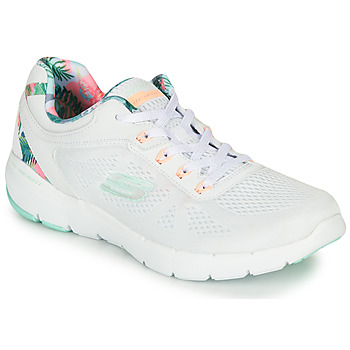 Sapatos Mulher Fitness / Training  Skechers FLEX APPEAL 3.0 Branco