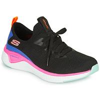 Sapatos Mulher Fitness / Training  Skechers SOLAR FUSE Preto / Rosa / Azul