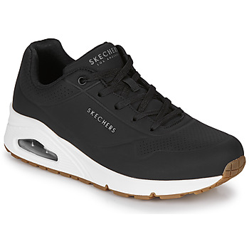 Sapatos Mulher Sapatilhas Skechers UNO STAND ON AIR Preto