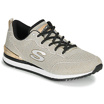 Sapatos Mulher Sapatilhas Skechers SUNLITE MAGIC DUST Cinza / Ouro