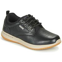 Sapatos Homem Sapatilhas Skechers DELSON ANTIGO Preto