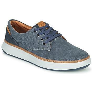 Sapatos Homem Sapatilhas Skechers MORENO EDERSON Azul / Castanho