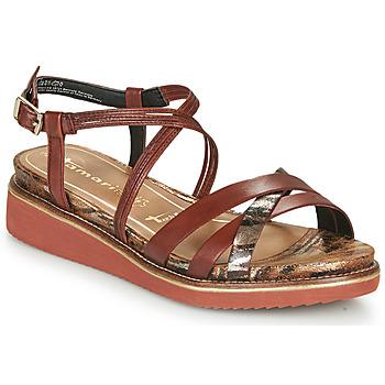 Sapatos Mulher Sandálias Tamaris EDA Castanho