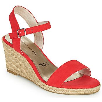 Sapatos Mulher Sandálias Tamaris LIVIA Vermelho
