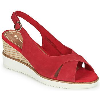 Sapatos Mulher Sandálias Tamaris ALIS Vermelho
