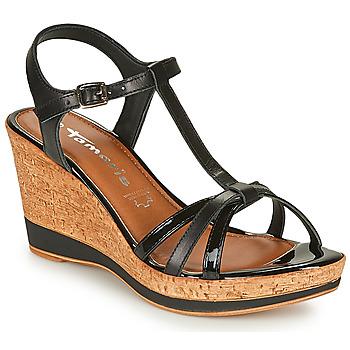 Sapatos Mulher Sandálias Tamaris VESILA Preto