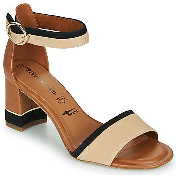 Sapatos Mulher Sandálias Tamaris DALINA Conhaque