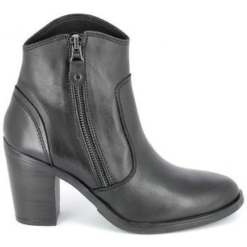 Sapatos Mulher Botins Porronet Boots Acap Noir Preto
