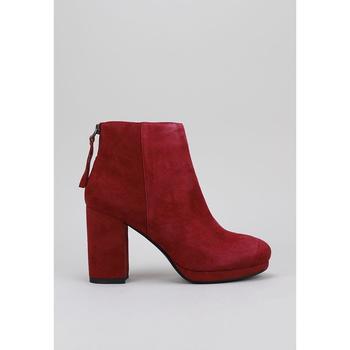 Sapatos Mulher Botas baixas Sandra Fontan SHULA Vermelho