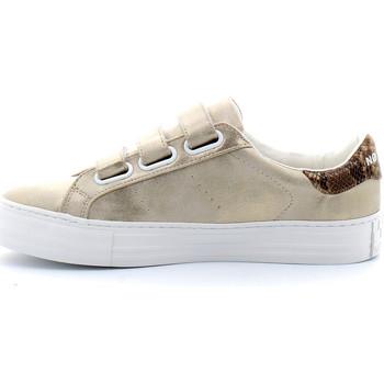 Sapatos Mulher Sapatilhas No Name ARCADE STRAPS Beige