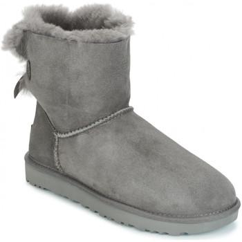Sapatos Mulher Botas de neve UGG BAILEY BOW Gris