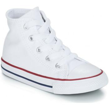 Sapatos Criança Sapatilhas de cano-alto Converse CHUCK TAYLOR Blanc