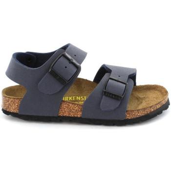 Sapatos Criança Sandálias Birkenstock NEW YORK Bleu