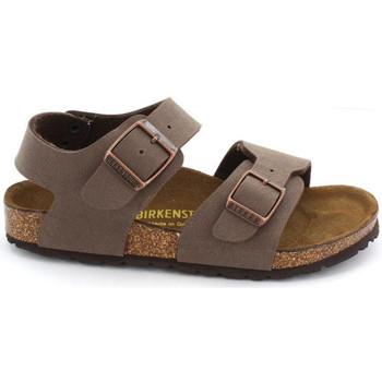 Sapatos Criança Sandálias Birkenstock NEW YORK Mocca