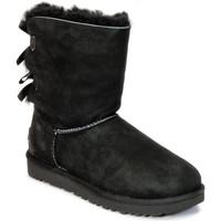 Sapatos Homem Botas de neve UGG BAILEY BOW Noir