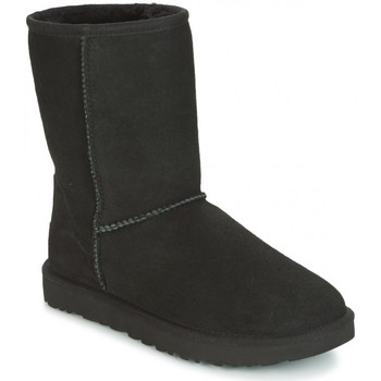 Sapatos Mulher Botas de neve UGG CLASSIC SHORT Noir