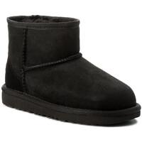 Sapatos Criança Botas de neve UGG CLASSIC MINI II Noir