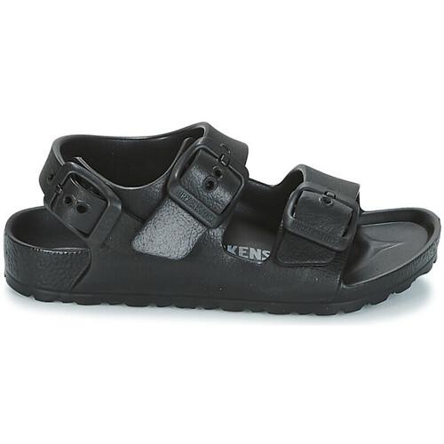 Sapatos Criança Sandálias Birkenstock MILANO Noir