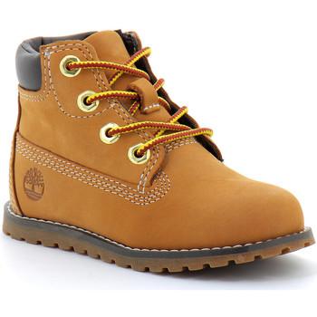 Sapatos Criança Botas baixas Timberland BOOT Wheat-jaune