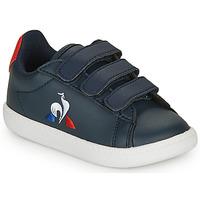 Sapatos Criança Sapatilhas Le Coq Sportif COURTSET INF Marinho / Vermelho