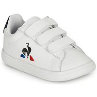 Sapatos Criança Sapatilhas Le Coq Sportif COURTSET INF Branco