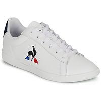 Sapatos Criança Sapatilhas Le Coq Sportif COURTSET GS Branco
