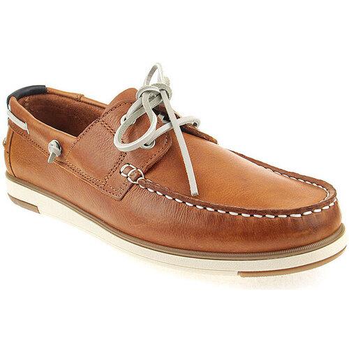 Sapatos Homem Sapato de vela Alex M Shoes Vellas Camel