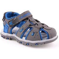 Sapatos Rapaz Sandálias desportivas Bebracci K Sandals Child Cinza