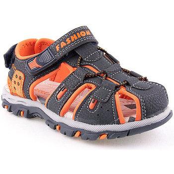 Sapatos Rapaz Sandálias desportivas Bebracci K Sandals Child Azul
