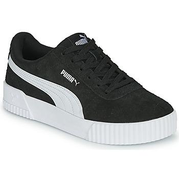 Sapatos Mulher Sapatilhas Puma CARINA Preto