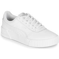 Sapatos Mulher Sapatilhas Puma Carina L Branco