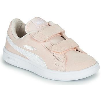 Sapatos Criança Sapatilhas Puma Puma Smash v2 SD V PS Rosa