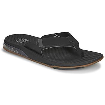 Sapatos Homem Chinelos Reef FANNING LOW Preto