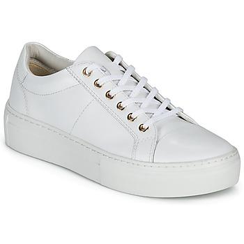 Sapatos Mulher Sapatilhas Vagabond Shoemakers ZOE PLATFORM Branco