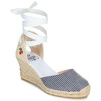 Sapatos Mulher Sandálias Le Temps des Cerises POLY Azul / Branco