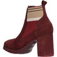 Sapatos Mulher Botins CallagHan - Tronchetto bordeaux 25704 BORDEAUX