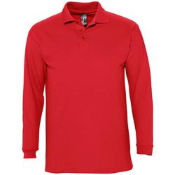 Textil Homem Polos mangas compridas Sols WINTER 2 CASUAL MEN Rojo