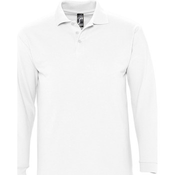 Textil Homem Polos mangas compridas Sols WINTER 2 CASUAL MEN Blanco