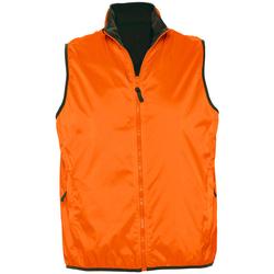 Textil Casacos de malha Sols WINNER UNISEX REVERSIBLE Naranja