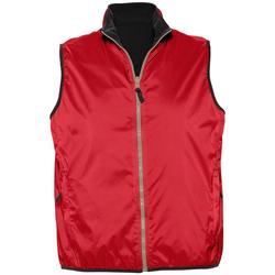 Textil Casacos de malha Sols WINNER UNISEX REVERSIBLE Rojo