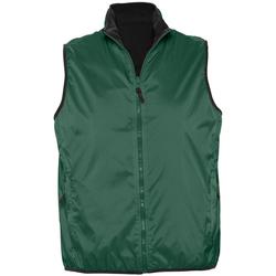Textil Casacos de malha Sols WINNER UNISEX REVERSIBLE Verde