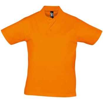 Textil Homem Polos mangas curta Sols PRESCOTT CASUAL DAY Naranja