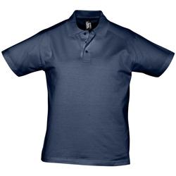 Textil Homem Polos mangas curta Sols PRESCOTT CASUAL DAY Azul