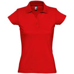 Textil Mulher Polos mangas curta Sols PRESCOTT CASUAL DAY Rojo