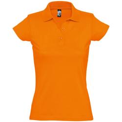 Textil Mulher Polos mangas curta Sols PRESCOTT CASUAL DAY Naranja