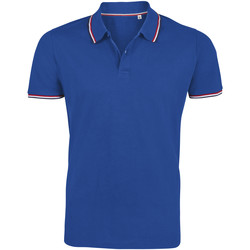 Textil Homem Polos mangas curta Sols PRESTIGE MODERN MEN Azul